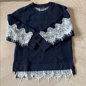 English Factory Crew Neck Sweater